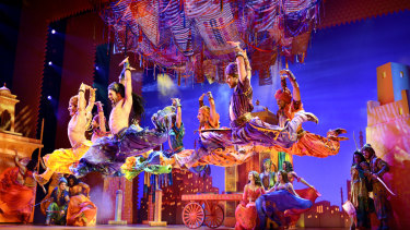 Aladdin: a visual spectacular.