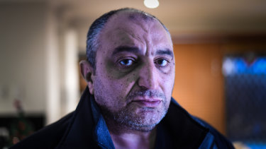 Melbourne security guard Nabil Shalash says his wages have not kept up with inflation for up to five years.