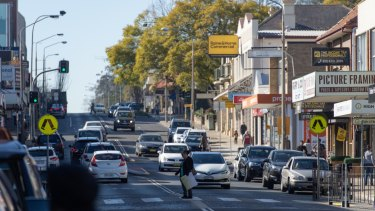 High Street, Penrith on Friday.  The electorate of Lindsay retains elements of the old battler status.