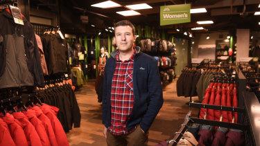 Kathmandu's profit billows from puffer jacket plague