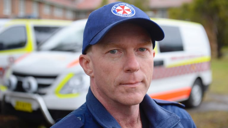 Steve Pearce, Paramedic Association state secretary. The APA apologised for its initial statement concerning Mr Ibrahim's death.