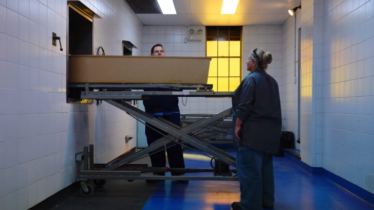 The old cremators in the crematorium at Woronora cemetery will be replaced by newer and wider models that can cater to large coffins.