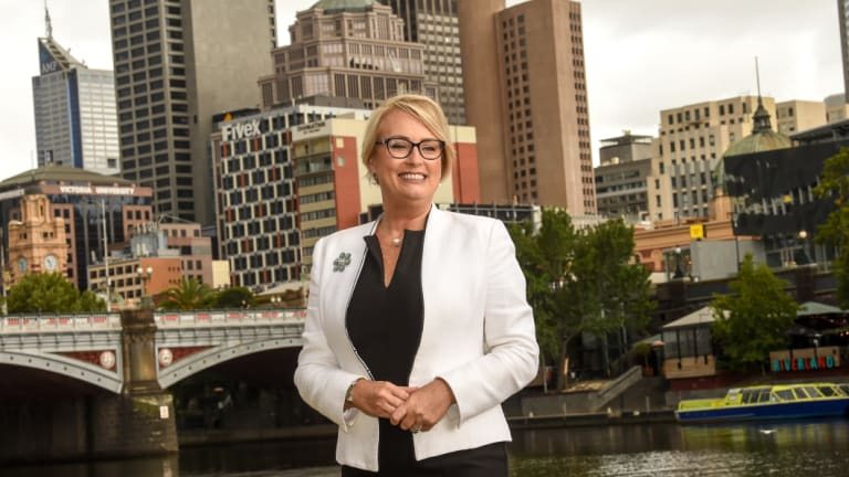 Sally Capp has been elected Melbourne's new lord mayor.