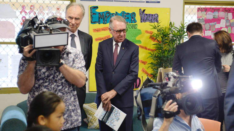 David Gonski has been tasked with reviewing school funding as well as improving student outcomes.