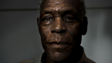 Danny Glover is in Sydney to take part in the ACTU conference.