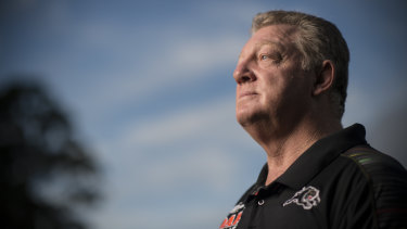 Gone: Panthers general manager Phil Gould denies he has been forced to quit the club after eight years.