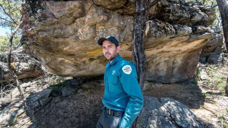 Once a goat hunter, Jake Goodes is now part of his efforts to document a new wave of rock art discovered in Grampiani.