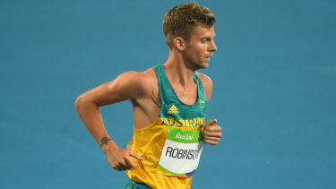 Brett Robinson finished 30th at the world cross country championships in Denmark.