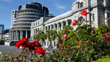 The New Zealand Parliament.