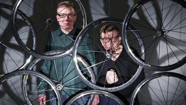 The Proclaimers' latest album is titled Angry Cyclist.
