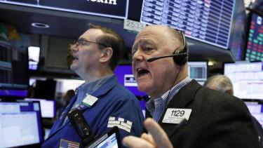 Wall Street slid sharply overnight.