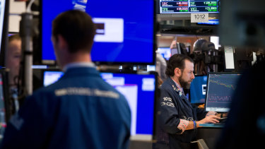 Wall Street is awaiting the Fed's interest rate decision next week.