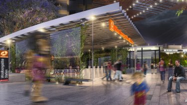 The proposed Woolloongabba Cross River Rail station.