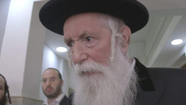 """Senior Rabbi Yitzchak Dovid Grossman, also known as """"disco Rabbi""""."""