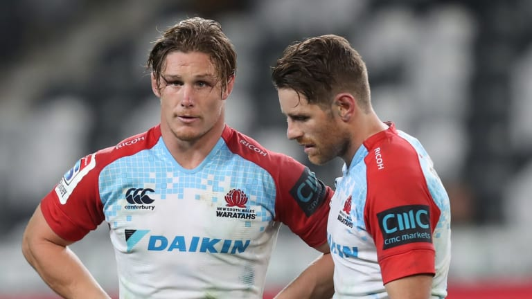Crucial: Michael Hooper and Bernard Foley want to stay in Australian rugby.