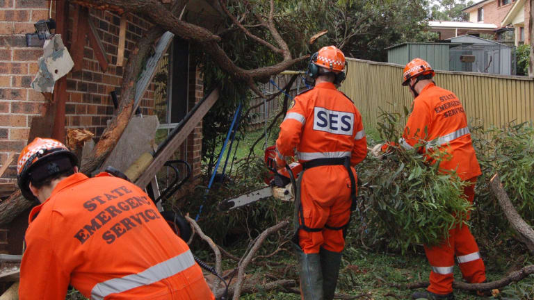 The research showed emergency relief, including the SES and rural fire services, was the sixth most common cause people volunteered for.