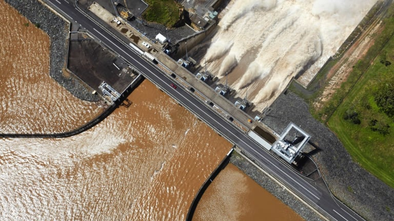Seqwater's barrister Brian O'Donnell said Wivenhoe was operated in a way that mitigated the severity of the flood.