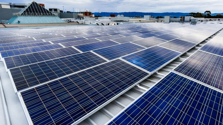 More than a dozen Stockland malls, such as Shellharbour in NSW, will get solar panels.