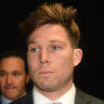 Toby Greene was at the tribunal last week, answering a charge over an incident with Marcus Bontempelli.
