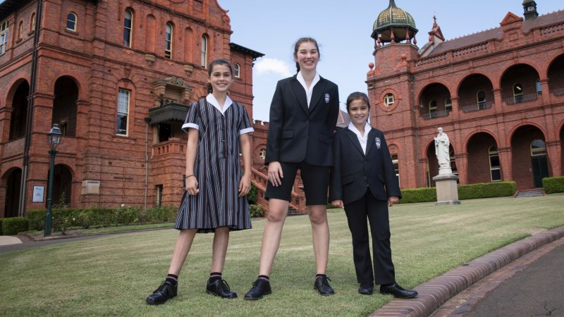 Power move: Why this Sydney private school is suiting up its girls