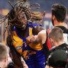 'I'll react the same way': Naitanui issues 'dreadful' warning to rivals