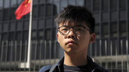 Joshua Wong arrested on new charge in Hong Kong crackdown