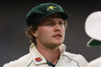 Will Pucovski has withdrawn from Test calculations due to ongoing mental health issues.