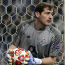Porto keeper Casillas recovering from training ground heart attack