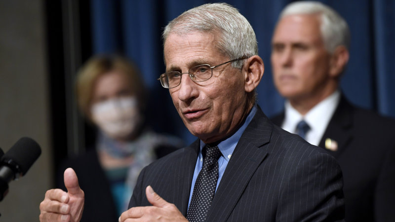 Fauci says safety won't be compromised in vaccine development image