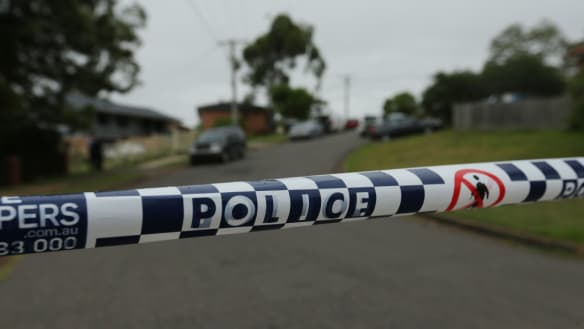 Leumeah Drive at Bolton Point remained shut on Monday morning after a man died following an alleged stabbing late on Sunday night.