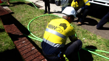 The NBN rollout is ahead of schedule for its completion next month.