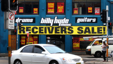 Billy Hyde was once one of the premier sellers of musical instruments and accessories.