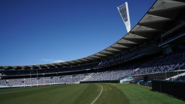 Geelong's GMHBA Stadium is a gambling ad free zone in 2019 and beyond.