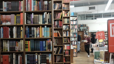 """The Strand bills itself as """"18 miles of books""""."""