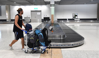 Passengers are becoming a rarity at Brisbane's domestic airport terminal.