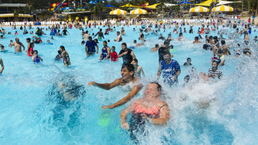 Wet 'n' Wild in Sydney was a financial disaster for Village Roadshow, and was last year sold for just $37 million to Spanish firm Parques Reunidos.