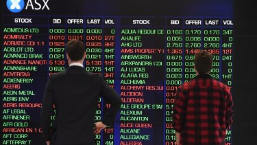 Australia's benchmark share index lost steam on Friday afternoon.