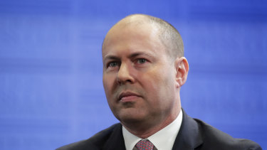 Josh Frydenberg said infrastructure will have to be a major element of the pandemic economic recovery plan.