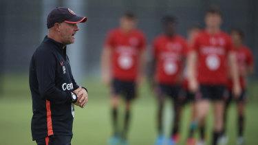 Jean-Paul de Marigny has been named Wanderers head coach.