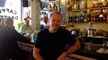 Australian bar owner Linden Pride took over New York's Caffe Dante, turning it into the world's best bar.