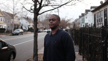 Jay Wilson was shot five times outside an apartment block in Georgia, in the United States.