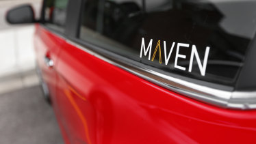 The Maven car-sharing service aims to meet changing driver trends.
