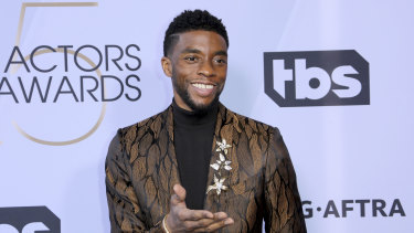 The late Chadwick Boseman is widely tipped to score an Oscar nomination for his work in Ma Rainey's Black Bottom.