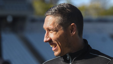 New leader: Mark Milligan will wear the armband for the Bulls.
