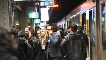 Sydney Trains have apologised for Tuesday morning's delays.