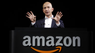 Amazon chief Jeff Bezos.
