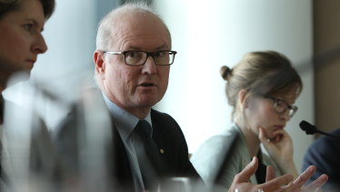 Jim Birch, chairman of Australian Digital Health Agency, which is rolling out My Health Record.
