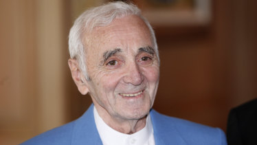 Charles Aznavour's performing career spanned 70 years.