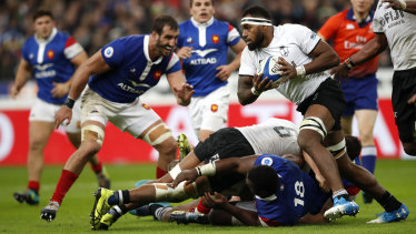 Flying Fijians: The Pacific Islands nation upset France in November last year and will be high on belief heading into the World Cup.