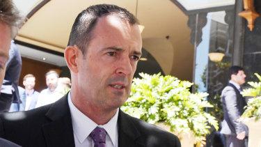 Joel Murchie leaves court this week.